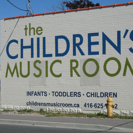 Children's Music Room in Toronto, ON