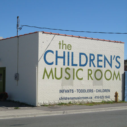 Children's Music Room in Toronto, ON - Distance Shot